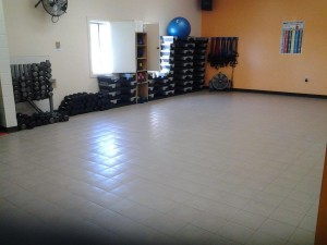 Group Fitness Room at Physiques Main Street