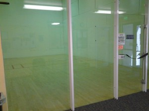 Raquetball Court at Physiques Main Street
